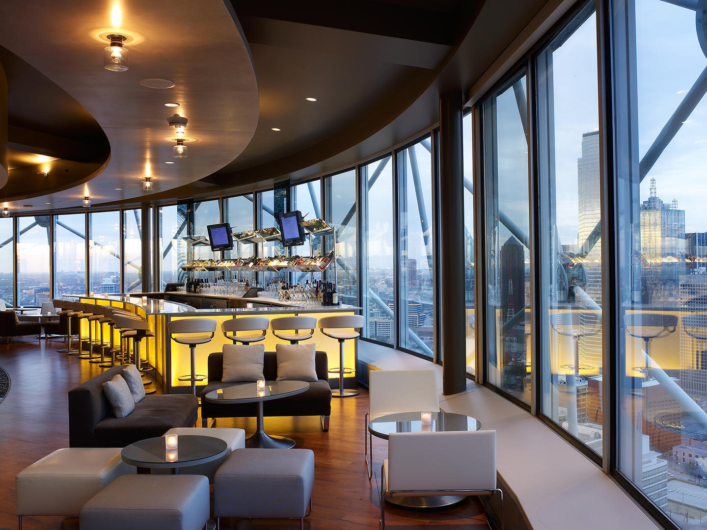 Five Sixty Makes The Top 100 Most Scenic Restaurants